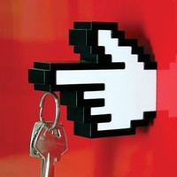 8 Bit Magnetic Key Holder & Hanger