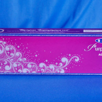 incense sticks Purple Jewel Original,By Satya Brand 100 gms 100sticks WORLD'S FAMOUS , Hand rolled Ready to ship from India. export quality!
