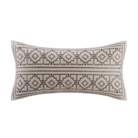 Echo Design™ Odyssey Oblong Pillow With Embroidery And Metallic Buttons|Designer Living