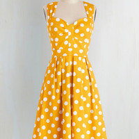 Pinup Long Sleeveless Fit & Flare