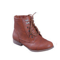 Must Have Dark Tan Ankle Bootie Boots