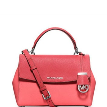 Michael Michael Kors Ava Colorblock Small Top Handle Satchel