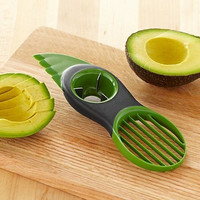 3 In 1 Avocado Slicer Pitter Good Grips Scoop Split Slice Pit Cutter Fruits Tool D_L = 1708656132