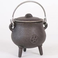 Small Pentagram Cauldron at Every Witch Way Online Shop