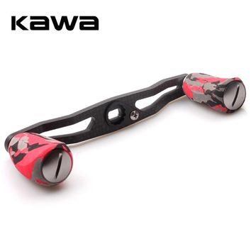 Kawa Fishing Reel Handle Carbon Fiber with EVA Knob, 8*5mm Hole Size, 120mm Length Suit for Abu and Daiwa Reel, Fishing Rocker