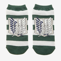 Attack On Titan Logo No-Show Socks