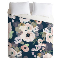 Khristian A Howell Une Femme In Blue Duvet Cover