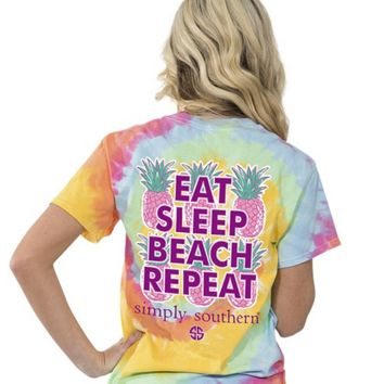 Simply Southern - Eat Sleep Beach Repeat ADULT
