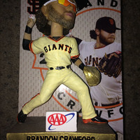 Sale!! San Francisco Sf Giants - Brandon Crawford bobble head MLB Jersey shirt