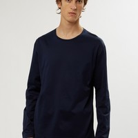 Long Sleeve T-Shirt Navy | E. Tautz