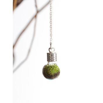Terrarium Globe Necklace