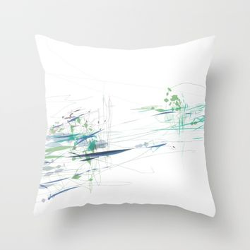 t_3 Throw Pillow by Kristina Kerstner