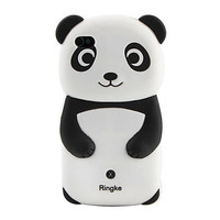 [USD $ 4.29]  - Lovely Panda Pattern Silicone Case for iPhone 4 and 4S (Multi-Color)
