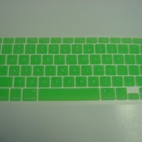 "UniCase GREEN Keyboard Silicone Cover Skin Protector for Macbook 13"" Unibody / Macbook Pro 13"" 15"" 17"""