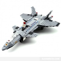 J-20 Stealth Fighter - Lego Compatible Toy