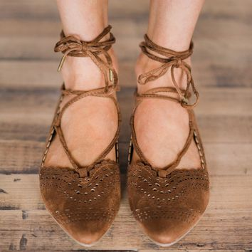 Not Rated Waati Flats ~ Tan