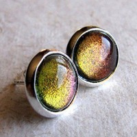 ShanaLogic.com - 100% Handmade  Independent Design! Dragon's Eye Stud Earrings - New Arrivals