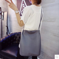 2016 Women Handbags Big Shopping Shoulder Bags Female Bucket Leather Messenger Bag Cheap Fashion Ladies Crossbody Bolas