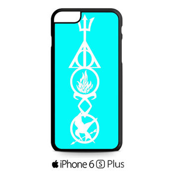 Harry Potter, Divergent , HUnger Games Symbols iPhone 6S  Plus  Case