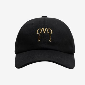 OVO Embroidered Baseball cotton cap Hat