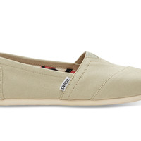 TOMS Agate Canvas Women's Classics Green