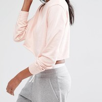 Missguided Cropped Sweat Top