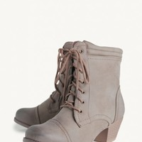 Adele Lace-up Ankle Boots
