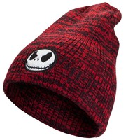 Nightmare Before Christmas - Jack Head Marled Slouchy Beanie