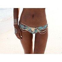 "Sandra ""Tassel & Chains"" Beach Belt"