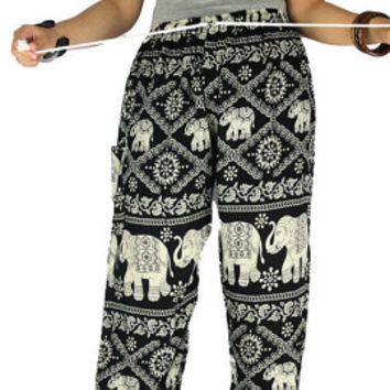 Palazzo pants Thai pants Hippie clothes Elephant clothes Gypsy pants Harem pants Hippie pants Elephant pants