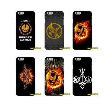 The Hunger Game Logo Soft Silicone phone Case For Samsung Galaxy S3 S4 S5 MINI S6 S7 edge S8 Plus Note 2 3 4 5