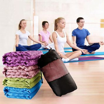 Non Slip Yoga Mat Cover Towel