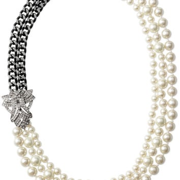 Daisy Pearl Necklace - Retired