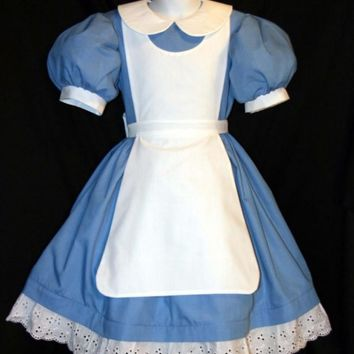 ALICE In WONDERLAND COSTUME Adult Size