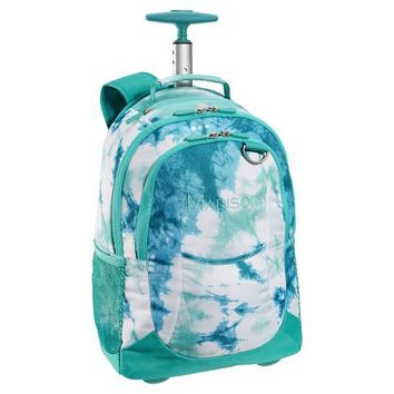 Ketchum Pool Tie-Dye Rolling Backpack