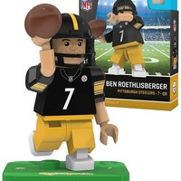 Pittsburgh Steelers BEN ROETHLISBERGER Limited Edition OYO Minifigure