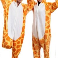 Keral Pajamas Cosplay Cartoon Animal giraffe Costume Pyjamas
