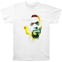 Gary Clark Jr. Men's  Blak And Blu Cover T-shirt White Rockabilia