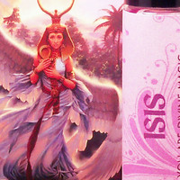 "ISIS GODDESS PERFUME ""You Are Divine Magic"" - Egyptian Moon Goddess of Divine Magic & Past Lives"
