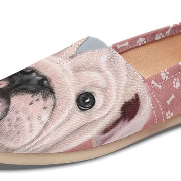 English Bulldog Puppy Casual Shoes
