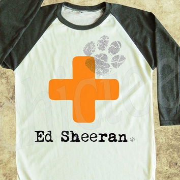 ed sheeran tshirt rock tshirt women t from chictee on etsy. Black Bedroom Furniture Sets. Home Design Ideas
