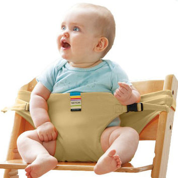 Baby Chair Portable Infant Seat Product Dining Lunch Chair Seat Safety Belt Feeding High Chair Harness Baby Feeding Chair