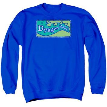 Dragon Tales - Logo Clean Adult Crewneck Sweatshirt
