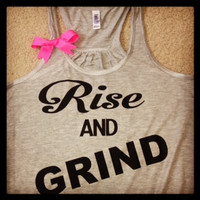 Rise and Grind Racerback Tank