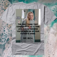 The Walking Dead: RIP, Beth shirt