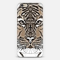 EYE OF THE TIGER on WOOD iphone case iPhone 6 case by Monika Strigel | Casetify