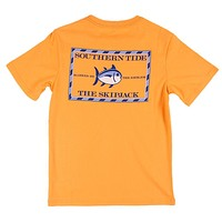 Youth Classic Skipjack Tee Shirt in Horizon by Southern Tide