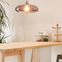 Lucia Rounded Glass Pendant - Urban Outfitters