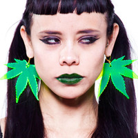 Neon Maryjane Earrings