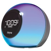 iHome® iBT29 Color Changing Dual Bluetooth® Alarm Clock Radio with Speakerphone
